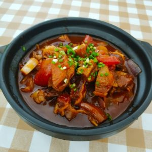 Stewed beef with tomato