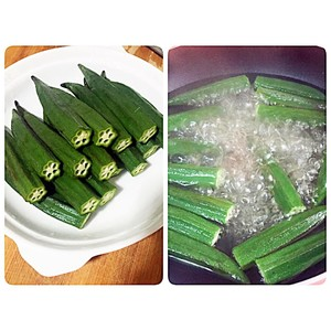 Garlic Okra
